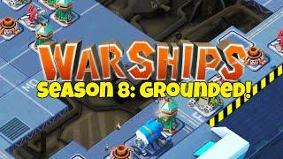 THE START OF WARSHIPS SEASON 8 IN BOOM BEACH!