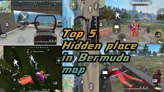 NEW TOP HIDDEN PLACES IN FREE FIRE BERMUDA-2020 || NEW HIDDEN PLACE AFTER UPDATE