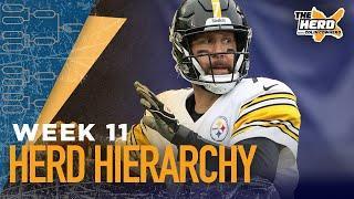 Herd Hierarchy:Colin's Top 10 NFL teams heading into Week 11 | THE HERD