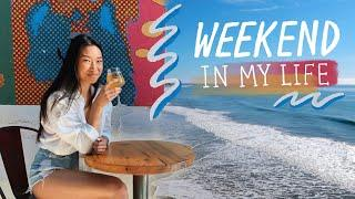 WEEKEND IN MY LIFE | Visiting Friends + First Time in Santa Barbara!