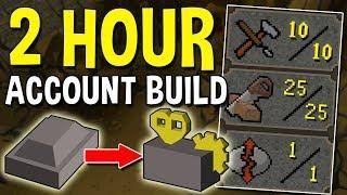 How to Build an Account in 2 Hours that Earns Bonds! Building a Crafting Alt Account! [OSRS]