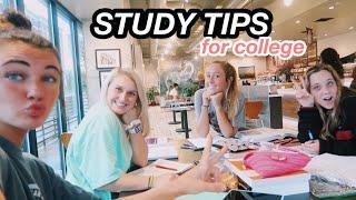 Top 10 study Tips for College VLOG | nursing school