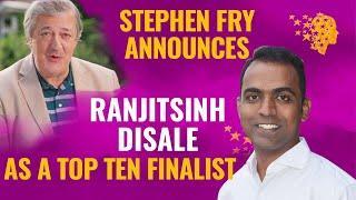 Stephen Fry Announces Ranjitsinh Disale  As A Top 10 Finalist | Global Teacher Prize 2020