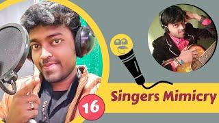 1 Guy Best Bollywood Singers Voice - Adarsh Anand | Top 16 Indian Singers mimicry