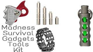 Madness Survival Gadgets. Top Cheap & Best Survival Tools & Kit.