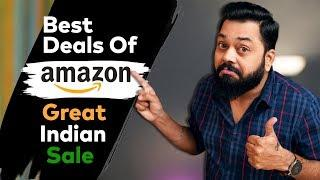 8 Best Amazon Great Indian Sale Deals ⚡⚡⚡Smartphone Deals You Shouldn't Miss !!