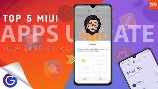 Top 5 MIUI System Apps Update July 2020 | MIUI Launcher | Mi Notes and Much More ⚡⚡