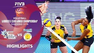 Novara vs. Praia - Highlights | Women's Volleyball Club World Champs 2019