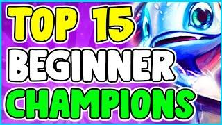 Top 15 Easiest Champions For Beginners And New Players To Win Right Away League Of Legends Season 10