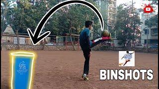 Amazing Binshots | TRICKSHOTS | TAUHID FOOTBALL