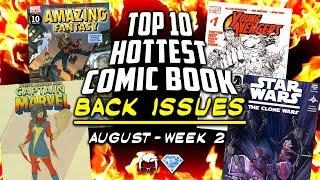 Comic Book Price Manipulation? | Top 10 Hottest Comic Book Back Issues Week 6 ft.GemMintCollectibles