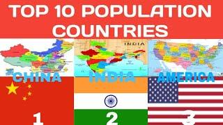 World Top 10 Populated Country || High Populated Country || Populated Country 2020