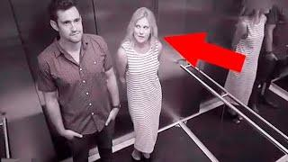 Top 10 Weird And Funny Elevator Moments Caught On Camera