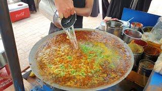 Bajarang Chole Kulche  : Street Food of Ahmadabad || Delhi Style Chole Kulche  || Street Food India
