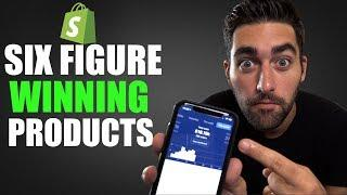 TOP 5 Six Figure WINNING Products For Shopify Dropshipping | Sell These NOW