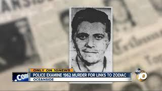 Did the Zodiac kill in Oceanside? Police re-test evidence in cold case