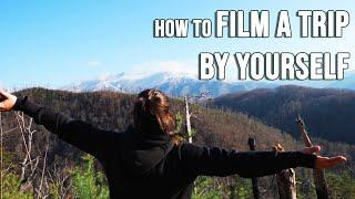 Top 10 Tips to FILM A TRAVEL VIDEO BY YOURSELF! | Solo travel as a Content Creator