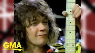 Tributes pour in for guitar, rock legend Eddie Van Halen l GMA