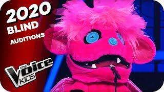 Ariana Grande - 7 Rings (Monsterchen) | The Voice Kids 2020 | Blind Auditions