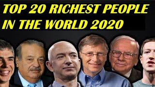 Top 10 Richest People in the World 2020 | Richest Person Comparison |Most Powerful People.