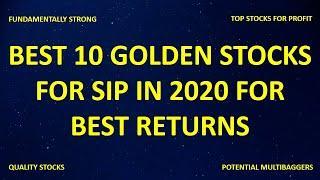 Multibagger Stocks - Best 10 Shares for SIP for Excellent Returns - Multibagger stocks 2020 india