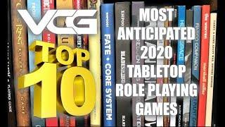 TOP 10 MOST ANTICIPATED TABLETOP ROLE PLAYING GAMES for 2020