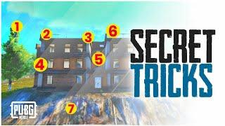 Top 10 Secret Tips and tricks to survive in school apartments || Pubg latest tips and tricks