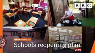 Year groups kept isolated in back-to-school plan - Covid-19: Top stories this morning - BBC
