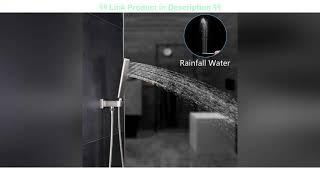 Top 10 EMBATHER Shower System with Waterfall Tub Spout Shower Faucet Set with 12 Inch Rain Shower H