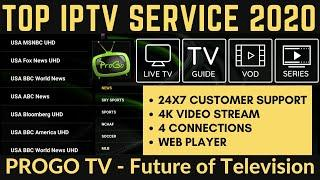 TOP IPTV SERVICE in 2020  | ProGoTV IPTV REVIEW  - DONT MISS OUT!