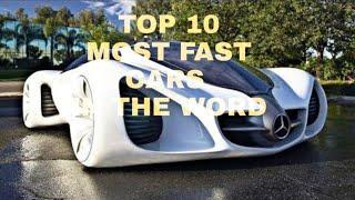TOP! 10 MOST EXPENSIVE CARS IN THE WORD