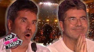 TOP 10 Simon Cowell's FAVOURITE Auditions And Performances On Got Talent And X Factor!