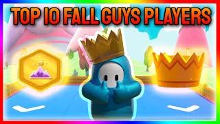 Top 10 BEST Fall Guys Players Of All Time! - Fall Guys Ultimate Knockout