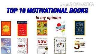 TOP 10 MOTIVATIONAL BOOKS | LIFE CHANGING BOOKS | TOP 10 | TOP INSPIRATIONAL BOOKS | MUSHRAN QURESHI