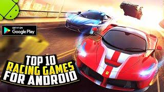Top 10 RACING Games For Android 2021 | High Graphics (Online/Offline)