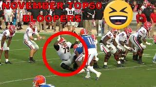 November Top 50 Bloopers of the Month | TSN SportsCentre