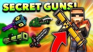 Top 10 SECRET WEAPONS in Pixel Gun 3D! (No One Has These)