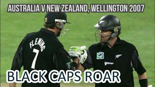 Australia slump to 10-wicket defeat | Australia vs New Zealand @ Wellington 1st ODI 2007 Highlights