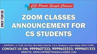 BEST CS CLASSES I BEST I ONLINE I FACE TO FACE I CLASSES I IMPORTANT ANNOUNCEMENT FOR CS STUDENT