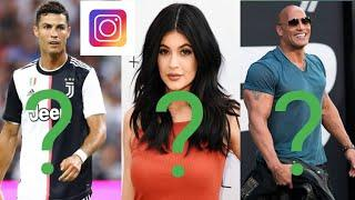 TOP 10 Most Followed People on Instagram in 2020