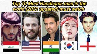 Top 10 Most Handsome men in the world (2021 updated) | handsome boy