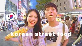 KOREAN STREET FOOD TOUR IN MYEONGDONG