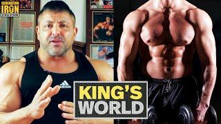 King Kamali's Craziest Bodybuilding Stories Of All Time | King's World