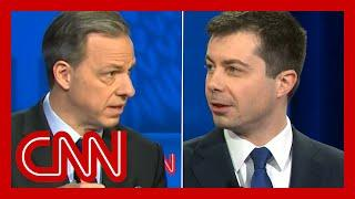 Tapper confronts Buttigieg over key poll number