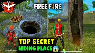 Free Fire Top Secret Hiding Places in Barmuda || Free Fire Best New Hidden Places You don't know