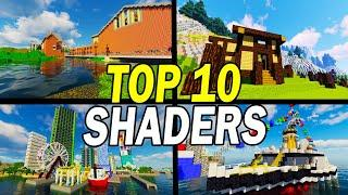 Top 10 Minecraft Shaders For Low End PCs (High FPS Shaderpacks)