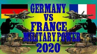 #PharakGyan #GermanyVsFranceMilitaryPower2020 || GERMANY VS FRANCE MILITARY POWER COMPARISON 2020