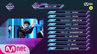 What are the TOP10 Songs in 2nd week of October? | M COUNTDOWN EP.685 201008