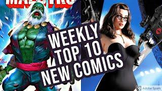 TOP 10 NEW KEY COMICS TO BUY FOR AUGUST 5TH 2020 - NEW COMIC BOOKS REVIEWS THIS WEEK - MARVEL / DC
