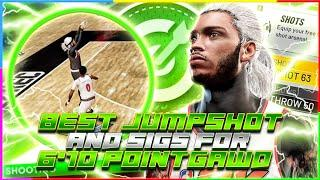 BEST JUMPSHOT AND SIGS FOR MY 6'10 ON NBA 2K21  (DONT MISS ANOTHER SHOT)